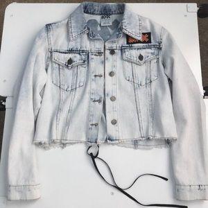 AC/DC Graphic Denim Jacket
